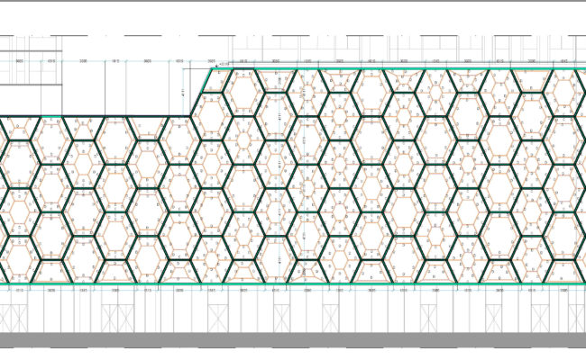 7.14_Commercial podium – Facade north south and west elevation