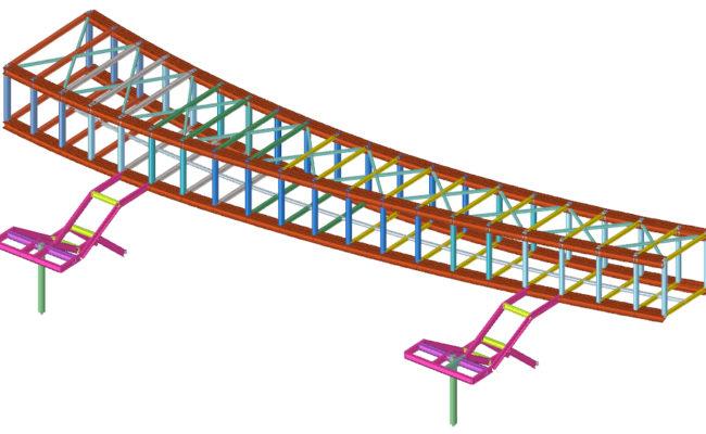 Fuda Square – Bridge – Struttura